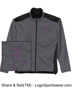 Mens Two-Tone Soft Shell Jacket Design Zoom